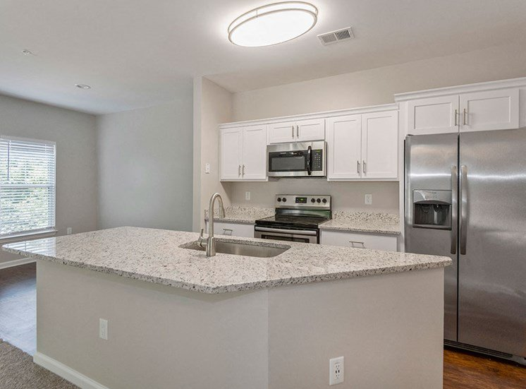 Renovated kitchen at Mayfaire Apartments