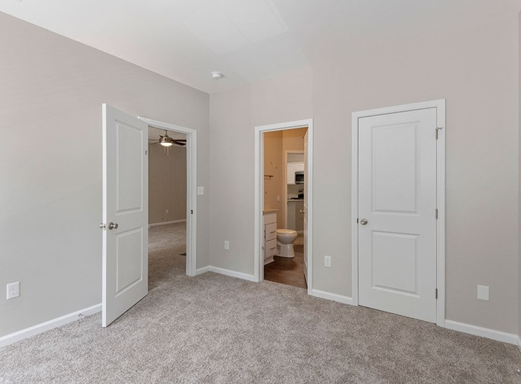 New Carpet in Renovated Apartments