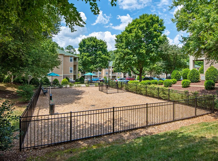 Dog Park 3 at Mayfaire Apartments in Raleigh NC