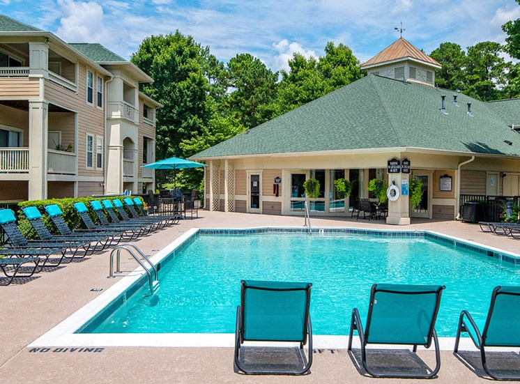 Pool 11 at Mayfaire Apartments in Raleigh NC