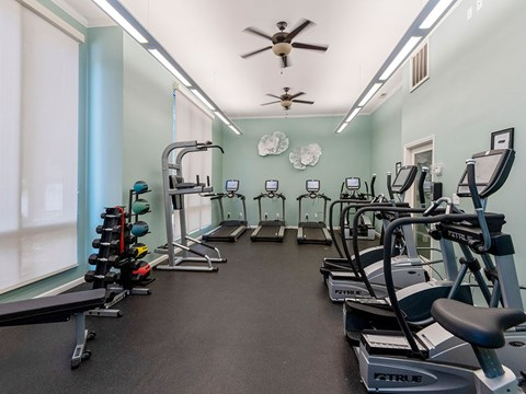 Gym 2 at Mayfaire Apartments in Raleigh NC