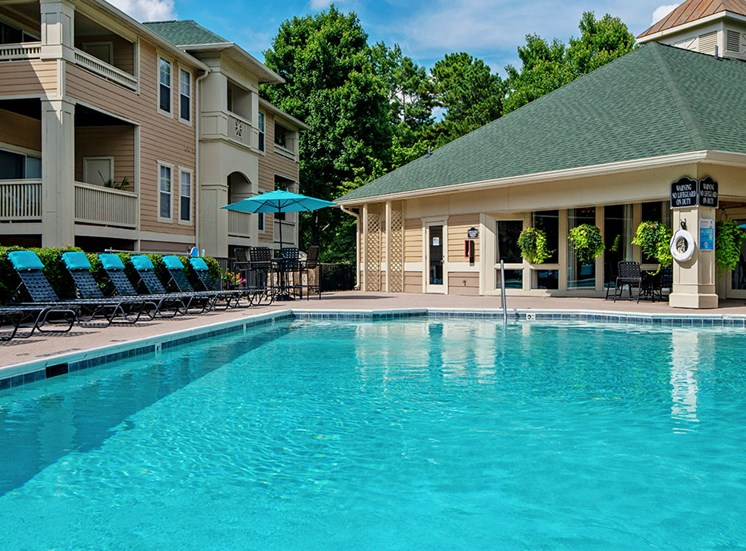 Pool 7 at Mayfaire Apartments in Raleigh NC