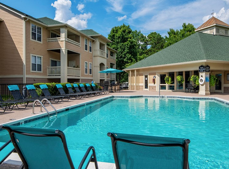 Pool 13 at Mayfaire Apartments in Raleigh NC