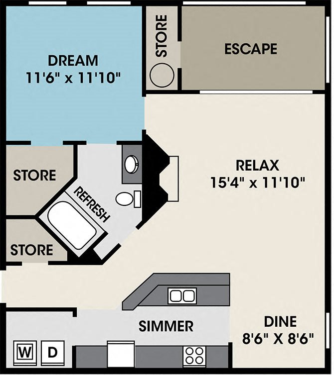 The Arundel Floor Plan 2
