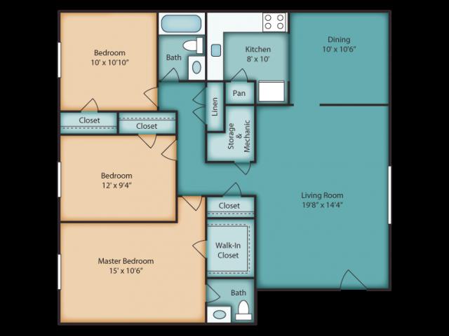Westover Floor Plan 3