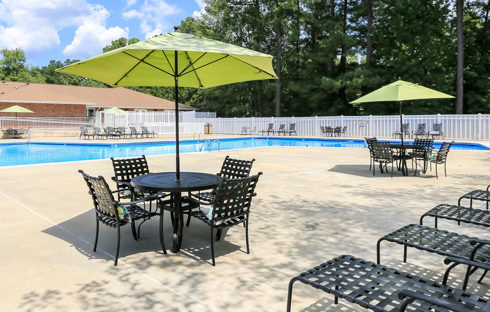 Pool at Woodland Creek Apartments