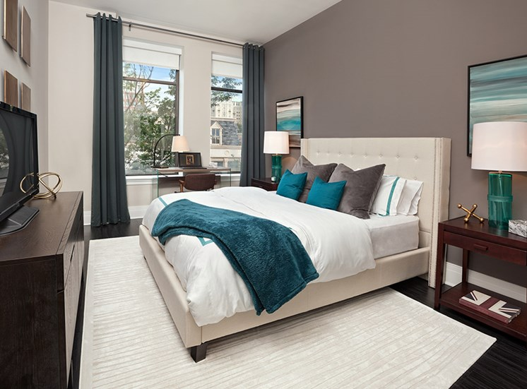 Bedroom at Deco at CNB luxury apartments