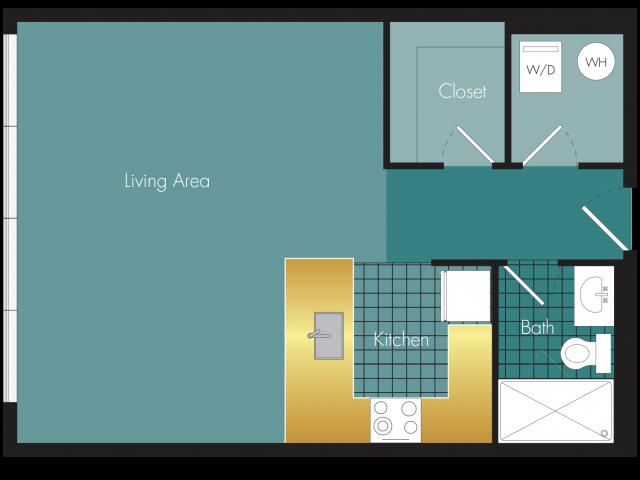 Other Studios Floor Plan 2