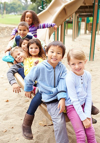 Playground and kids