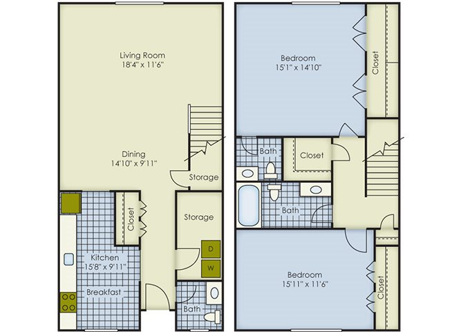 Dorchester Townhouse Floor Plan 8