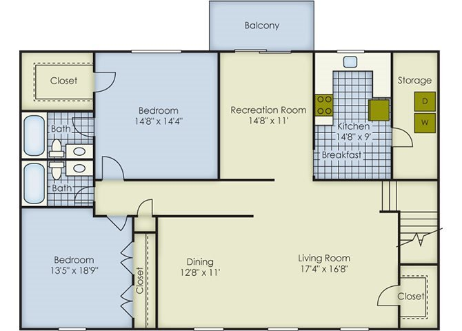 Bexley 2 Floor Plan 10