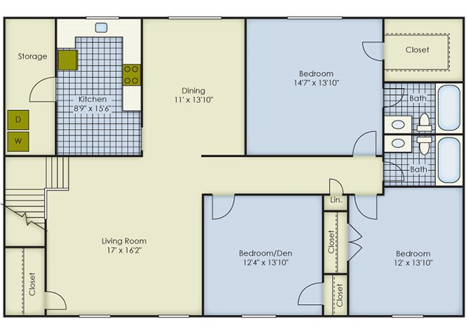 Hawthorne Floor Plan 12