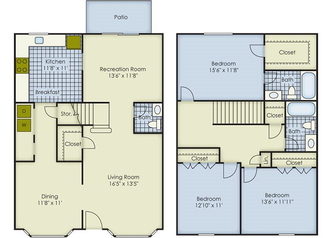 Kent Townhouse Floor Plan 11