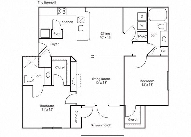 Bennett Floor Plan 4
