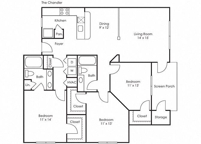 Chandler Floor Plan 5