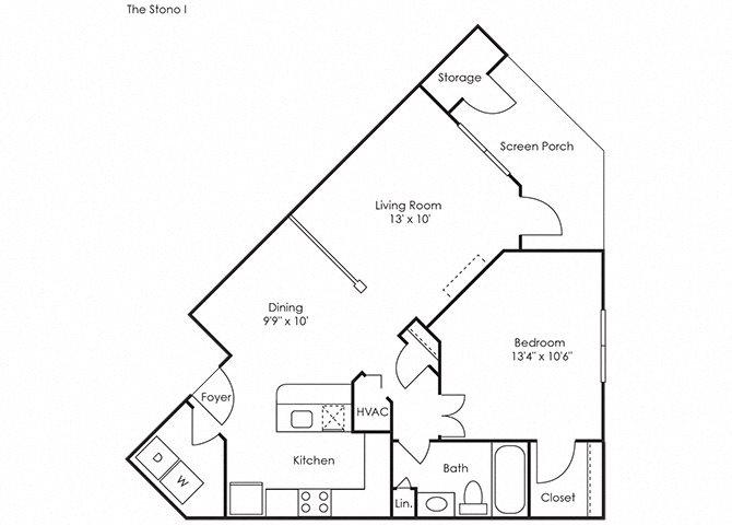 Stono I Floor Plan 1