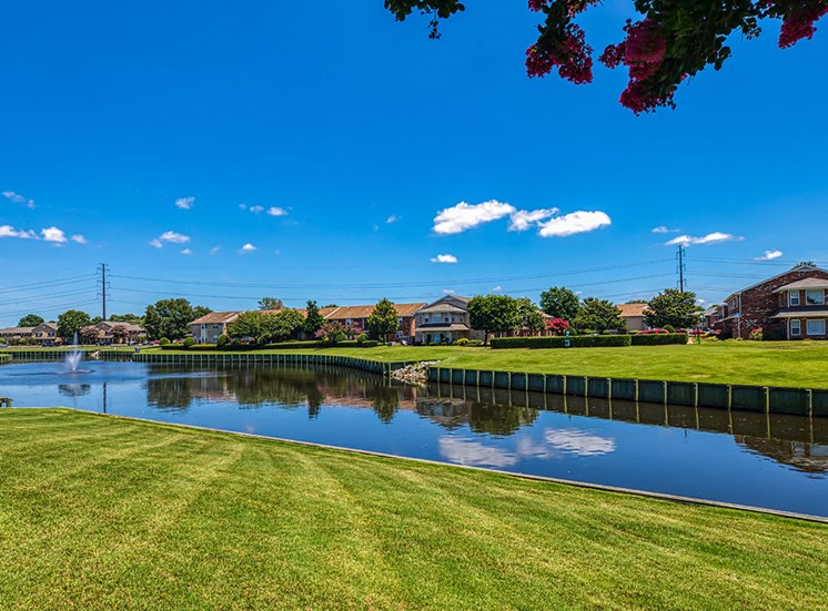 canal at Holly Point Apartments in Chesapeake VA