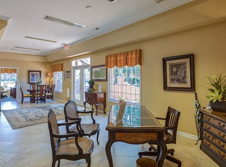 Office at Holly Point Apartments in Chesapeake VA
