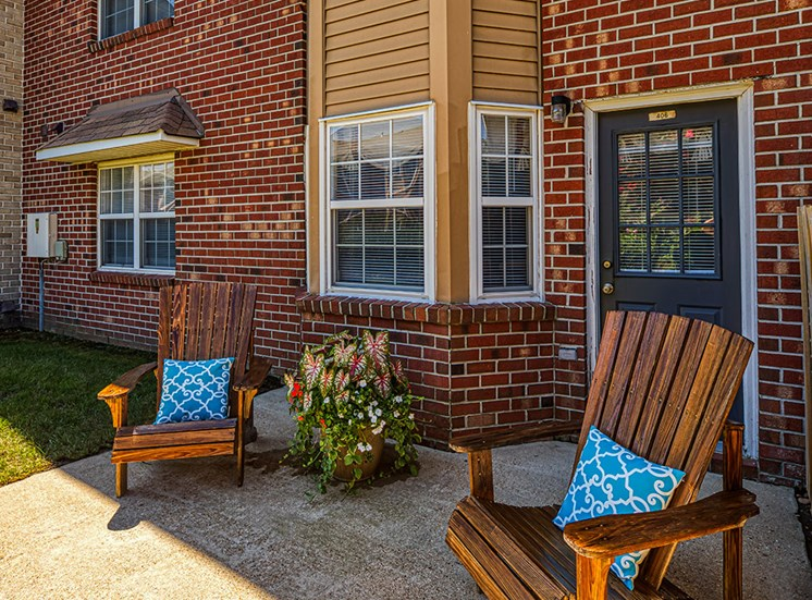 Terrace at  Holly Point Apartments in Chesapeake VA