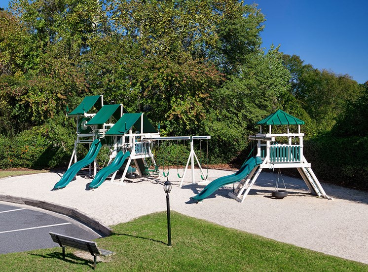 Playground at Holly Point Apartments in Chesapeake VA