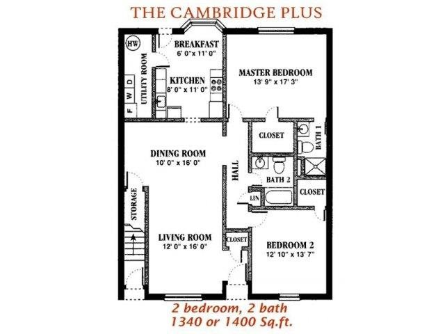 The Cambridge Plus Floor Plan 11