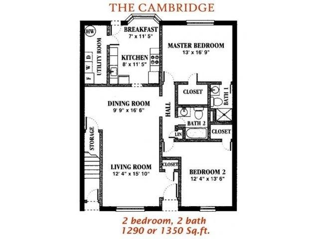 The Cambridge Floor Plan 10