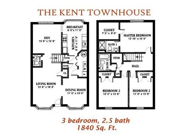 The Kent Floor Plan 17