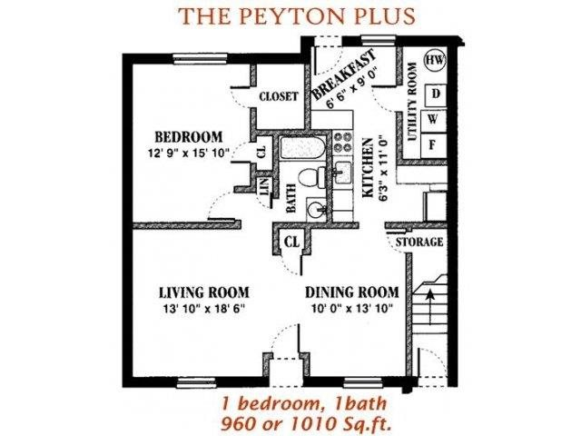 The Peyton Plus Floor Plan 3