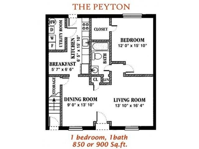 The Peyton Floor Plan 2