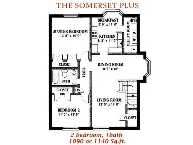 The Somerset Plus Floor Plan 5