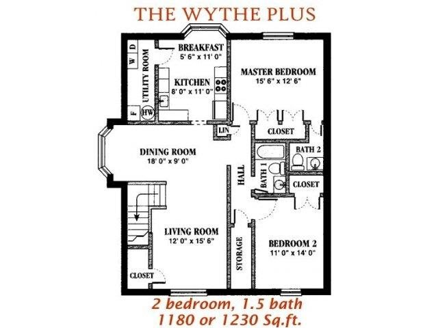 The Wythe Plus Floor Plan 7