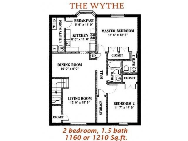 The Wythe Floor Plan 6