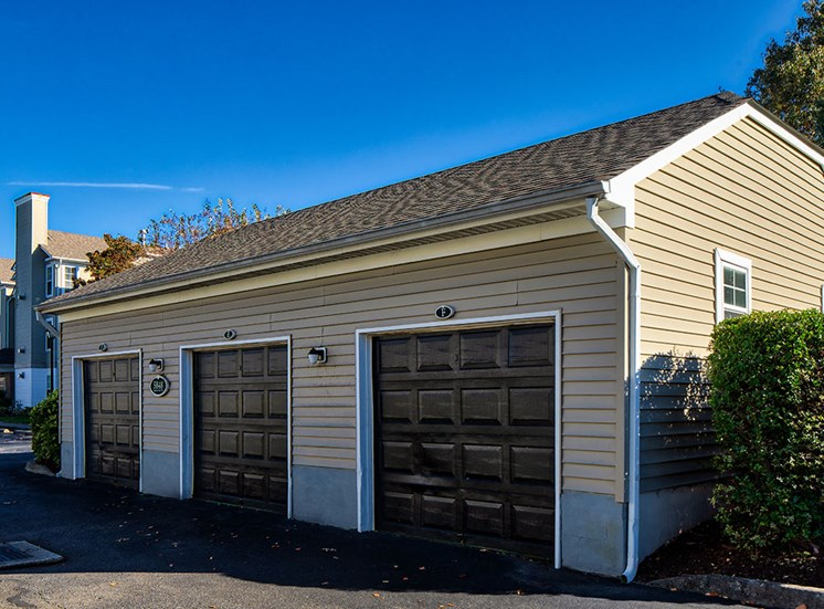 Garage at apartments in Virginia Beach VA