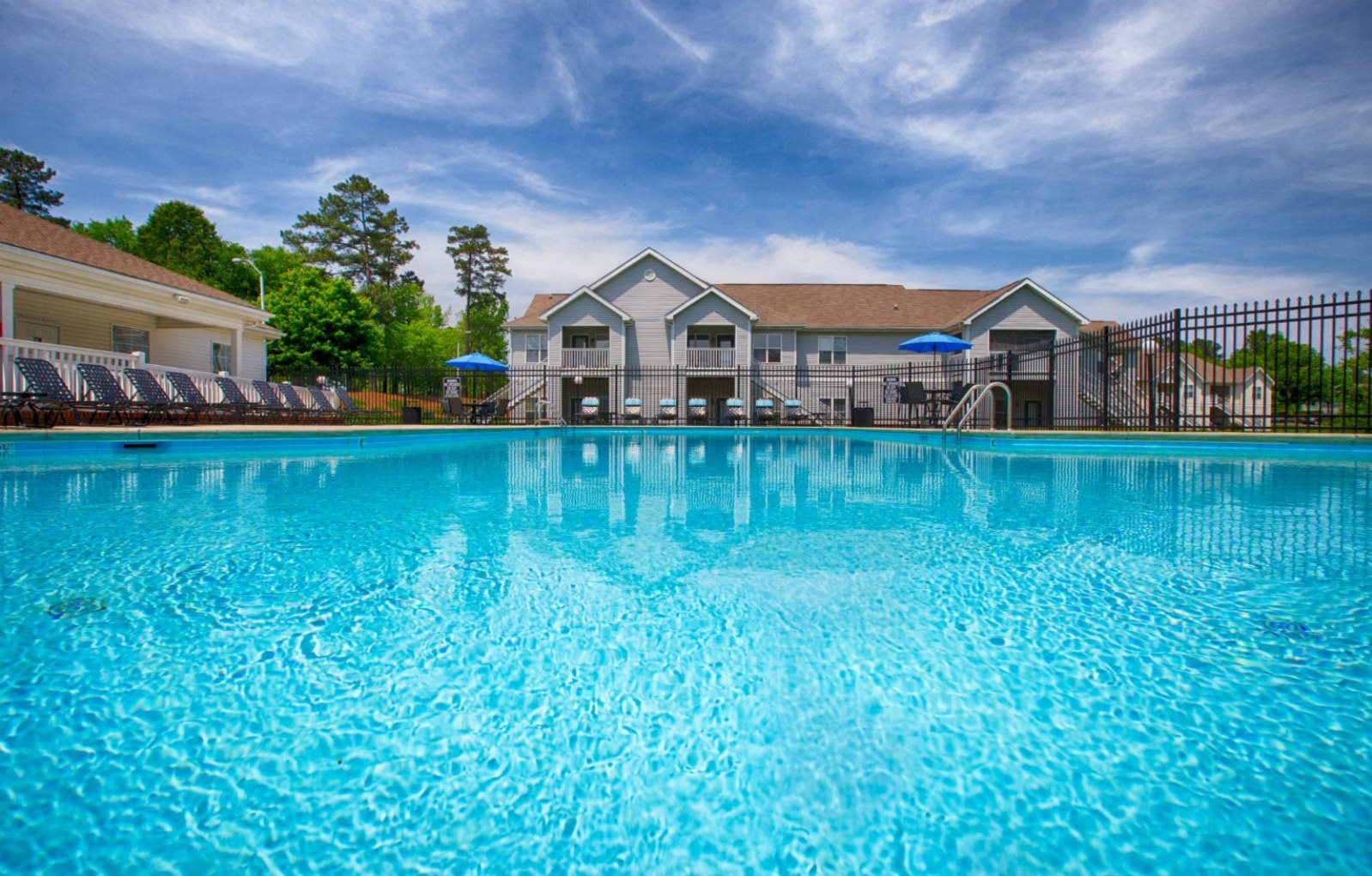 Pool at Northridge Crossing Apartments in Raleigh