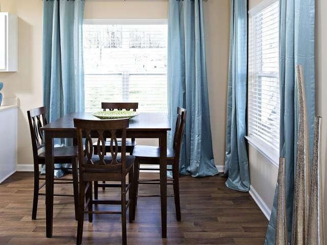 Dining room at Northridge Crossing Apartments in Raleigh NC