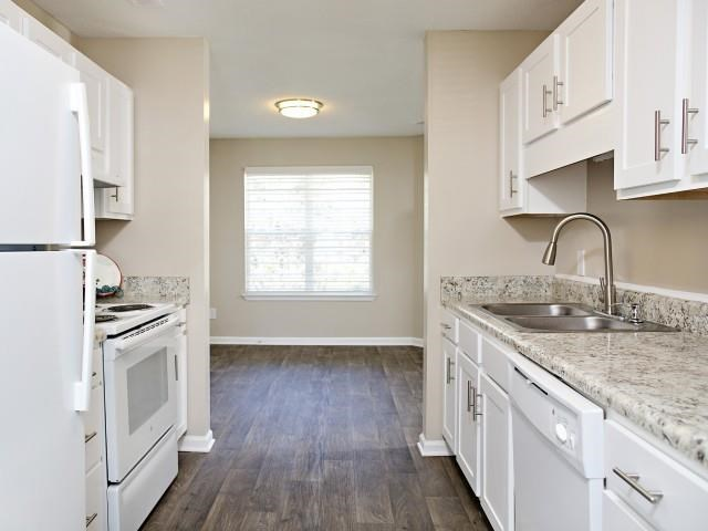 Kitchen at Northridge Crossing Apartments