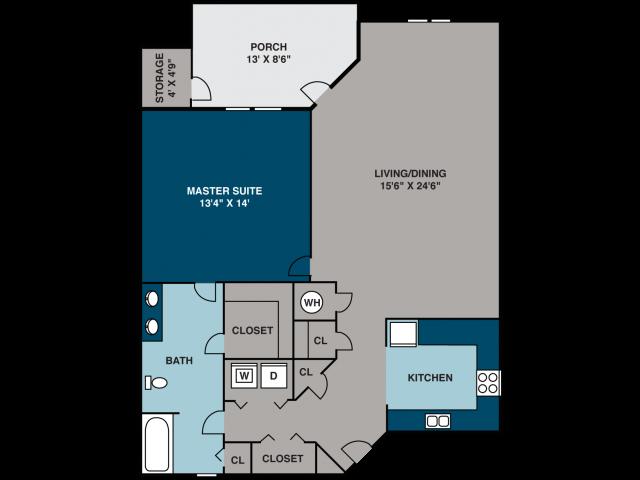 The Caboose Floor Plan 2