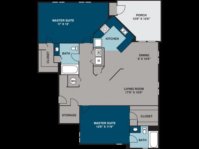 The Pullman Floor Plan 3