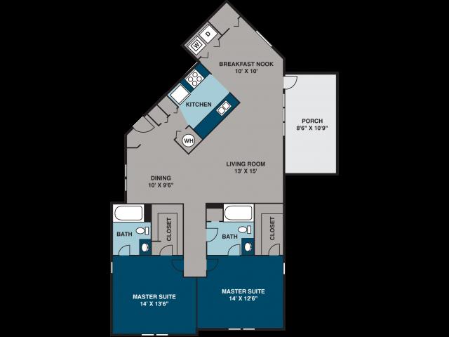 The Stemwinder I Floor Plan 4