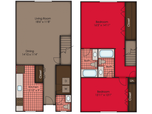 Dorchester II TH Floor Plan 8
