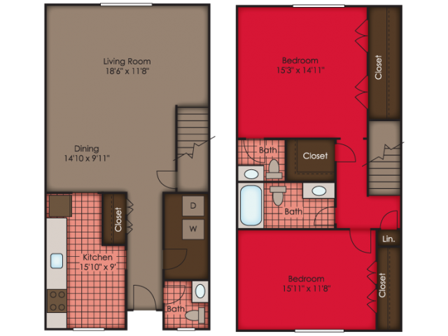 Dorchester TH Floor Plan 6
