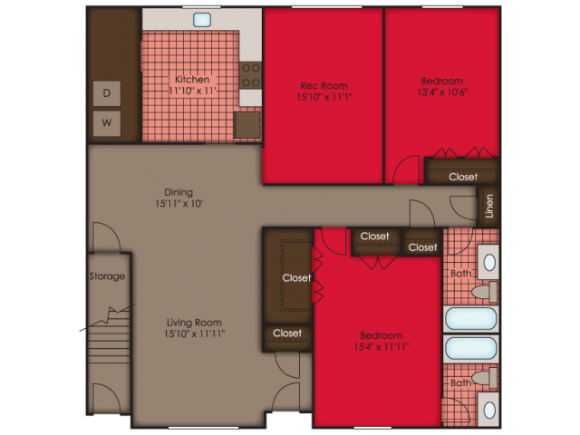 Jefferson II Floor Plan 12
