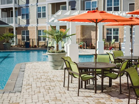 Chairs at Solace Apartments in Virginia Beach 23464