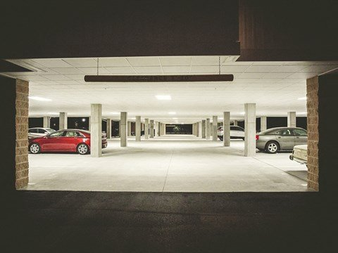 Garage at Solace Apartments in Virginia Beach  23464