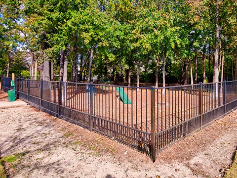 Dog Park at Solace Apartments in Virginia Beach