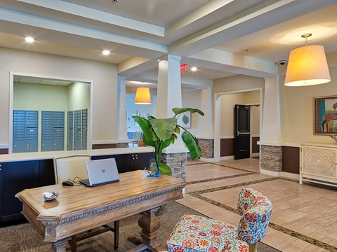 Leasing office at Solace Apartments 23464