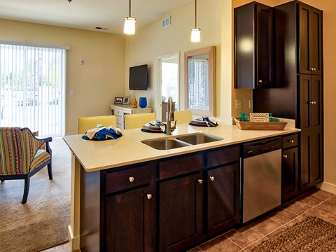 Apartment Kitchen at Solace in Virginia Beach 23464