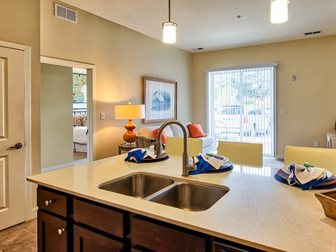 Kitchen at Solace Apartments 7