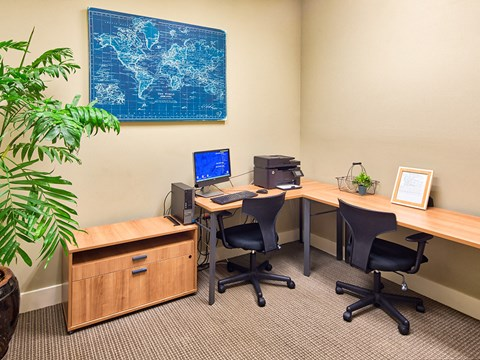 Work area at Solace Apartments 23464