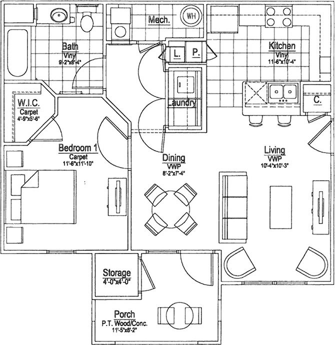 Poppy Floor Plan 1